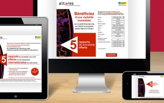 Altarès – B2b Mailshot and e-mail mailshot