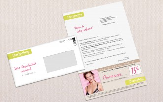 Darjeeling – Retail mailshot