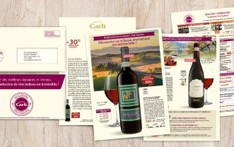 Fratelli Carli – Mailshot and e-mail maishot