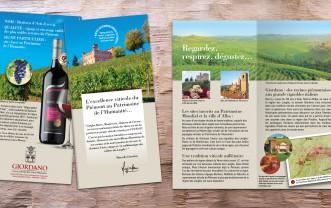 Giordano Wines – Mailshots
