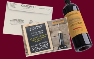 Giordano wines – Mailshot (sale)