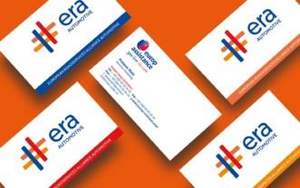 Europe Assistance –  Identité du bloc de marque ERA